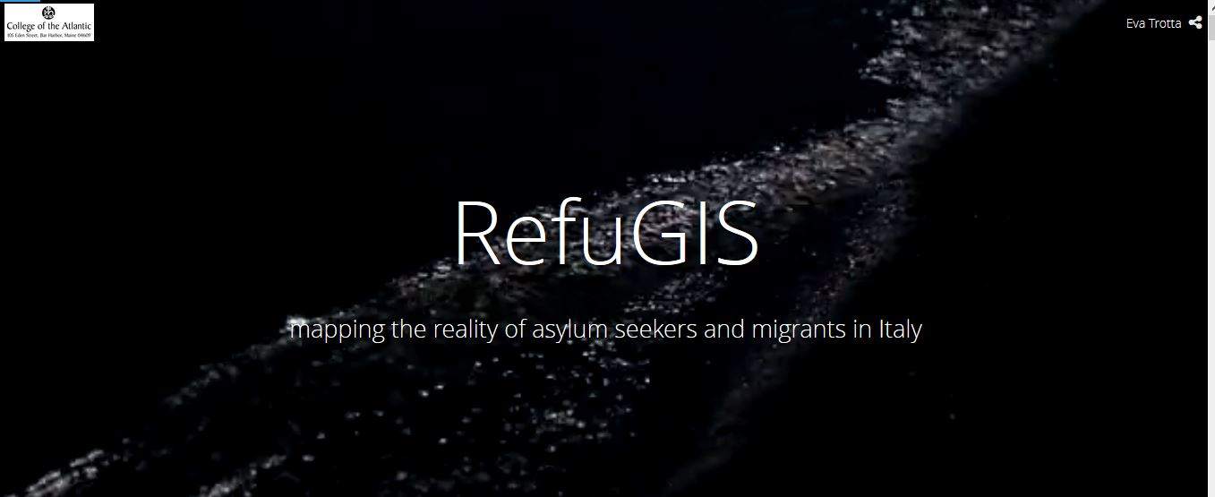 RefuGIS: mapping the reality of asylum seekers and migrants in Italy