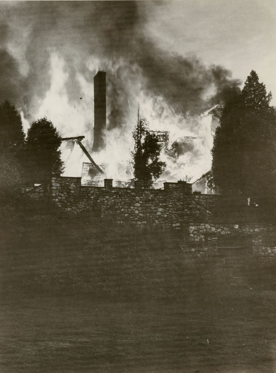Kaelber Hall Fire, July 25, 1983
