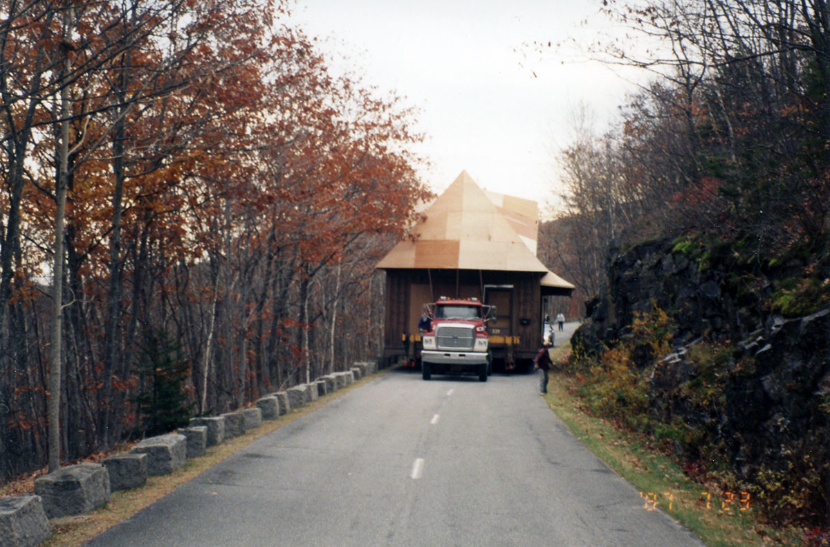 ANP Headquarters Building Relocation, photograph, October 1996