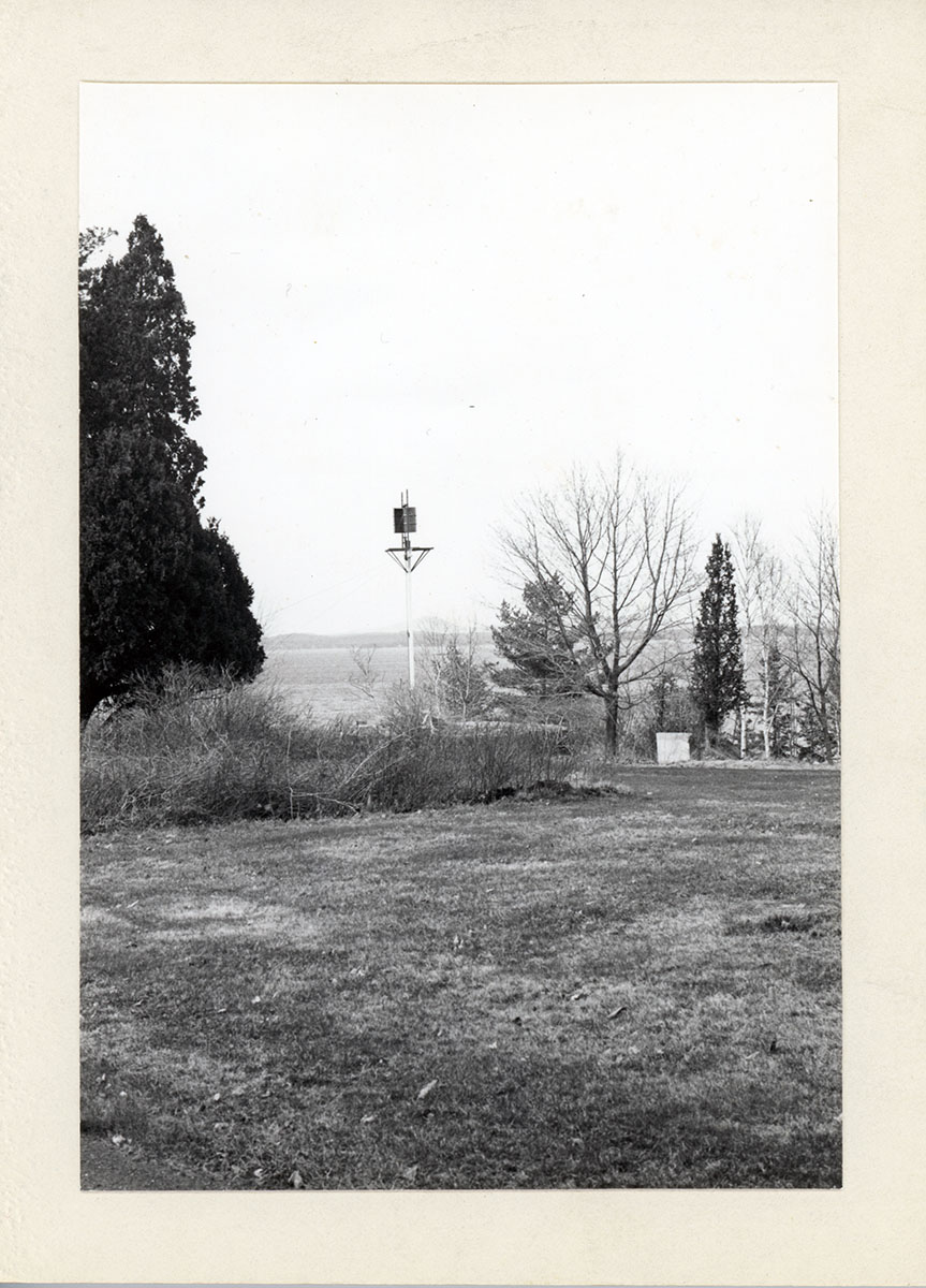 Student-built Windmill, photograph, circa 1975