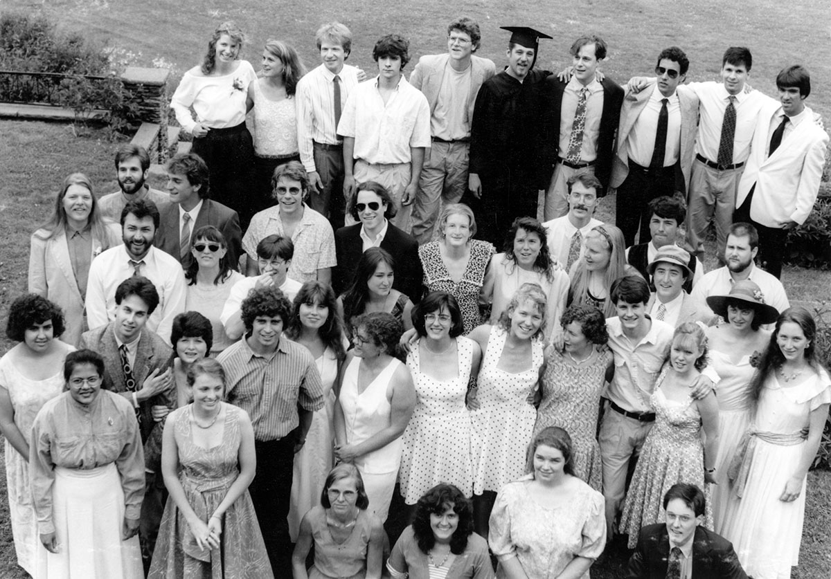 Commencement Group, photograph, June 1991