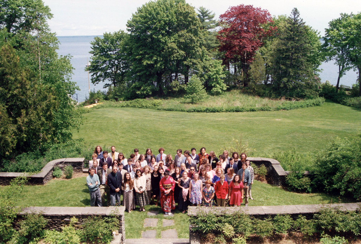 Commencement Group, photograph, June 1993